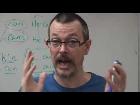 Q&A: Pronunciation difference: CAN vs CAN'T