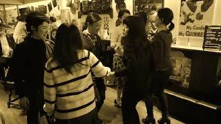 2019年3月28日に名古屋のアイリッシュパブCooper'sでのセットダンスの模...