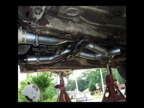 '84 -- 3rd Gen Camaro exhaust clearance, spintech mufflers ...  |3rd Generation Camaro Dual Exhaust
