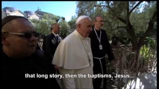 POPE AND PILGRIMAGE TO HOLY LAND