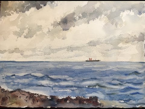 Watercolor Lesson On Winslow Homer's