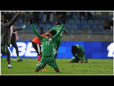 Gabriel Okechukwu's extra-time winner sends Nigeria past Angola