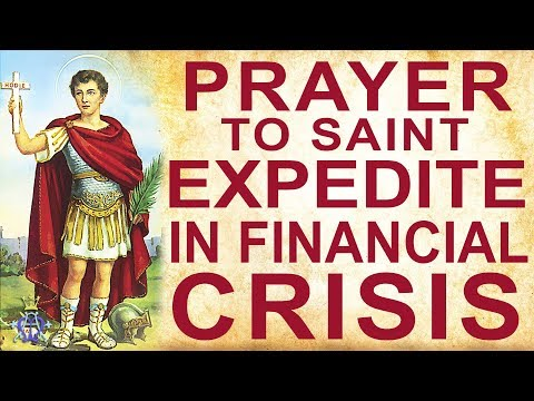 🙏 Prayer to Saint Expedite - In financial crisis - Very Powerful 🙏