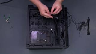 cable management time lapse corsair crystal 460x rgb