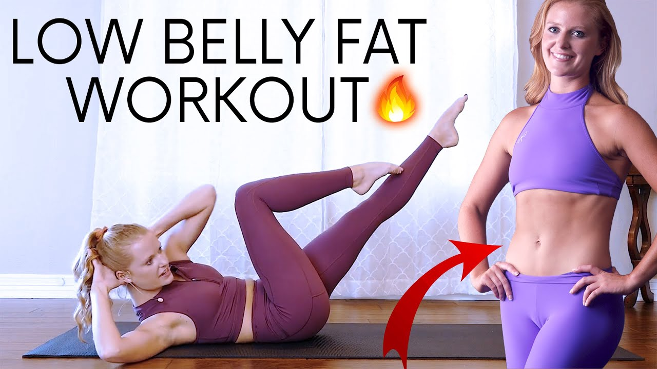 Low Belly Burn! The Best Pilates Exercises for Lower Abs | 20 Minute Home Fitness, Master Class