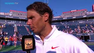 Rafa Reflects On Claiming Fourth Rogers Cup Title