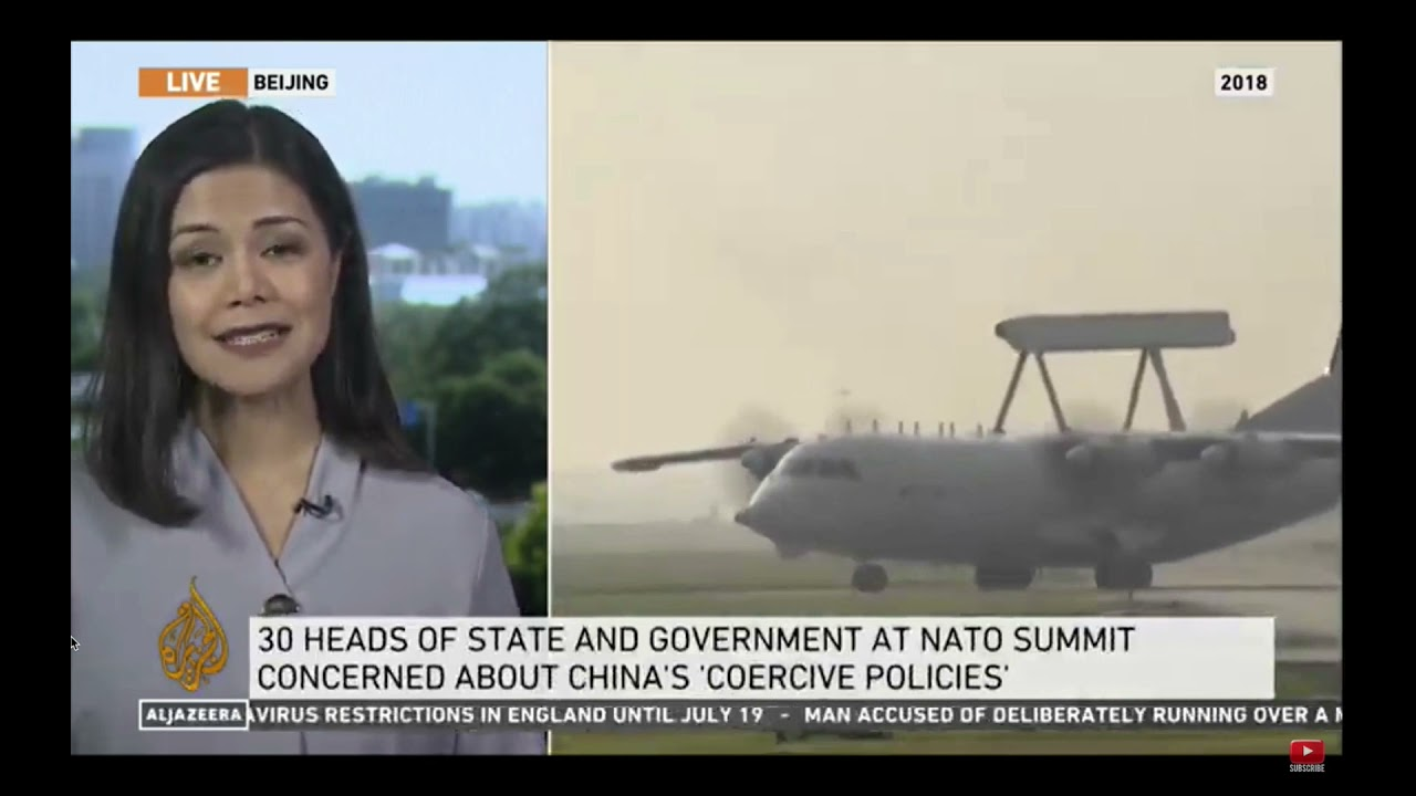 China accuses NATO leaders of hyping the 'China threat'