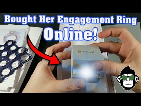 Buying An Engagement Ring ONLINE From Blue Nile | Unboxing & Review