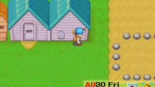 Gambar cover Harvest Moon (FoMT) - A day on my farm - 30th of Fall, Year 1