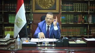 المستشار محمد عثمان يرد علي مرتضي منصور.. فضيحة مرتضى منصور