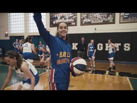 "Rupp TV: Globetrotter ""Hoops"" Green Visits Lexington Catholic"