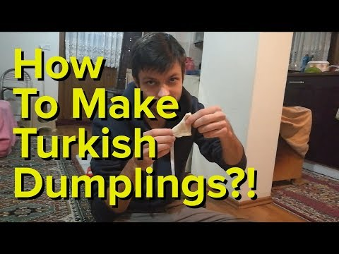 How To Prepare Turkish Dumplings? | We Almost Got Wet | Day 2 - Sile