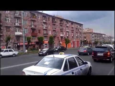 Armenia, Yerevan, Azatutyan-Komitas-Baghramyan Ave.