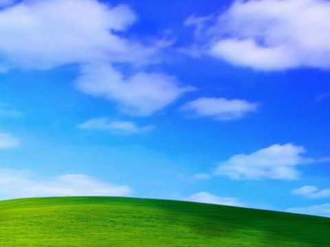Windows XP Bliss Screensaver - YouTube