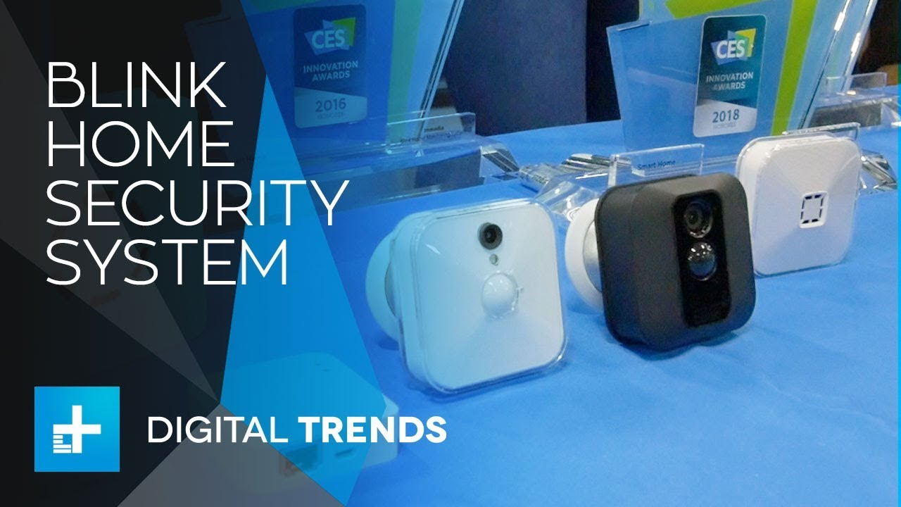 Blink Home Security System at CES 2018
