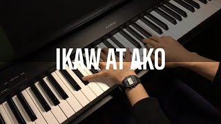 Ikaw At Ako - Moira Dela Torre & Jason | Piano Cover видео