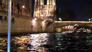 Evening Cruise on the Seine River in Paris (Pont Neuf to Notre Dame Cathedral)