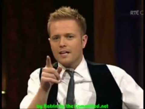 Funny Nicky Byrne - Westlife - I Will Reach You and I Get Weak