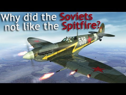 Why did the Soviets not like the Spitfire? #Lend-lease