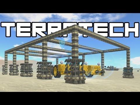 Terra Tech - Resource Refinery Frame!  - Terra Tech Gameplay