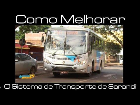 Como melhorar o sistema de transporte coletivo de Sarandi