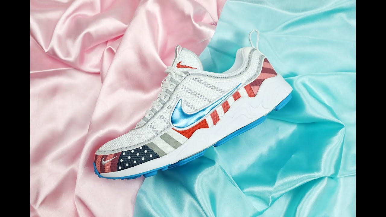 Kicksvision    Parra x Nike Air Zoom Spiridon White Multi 2018 Unbox Video 56c3e7166