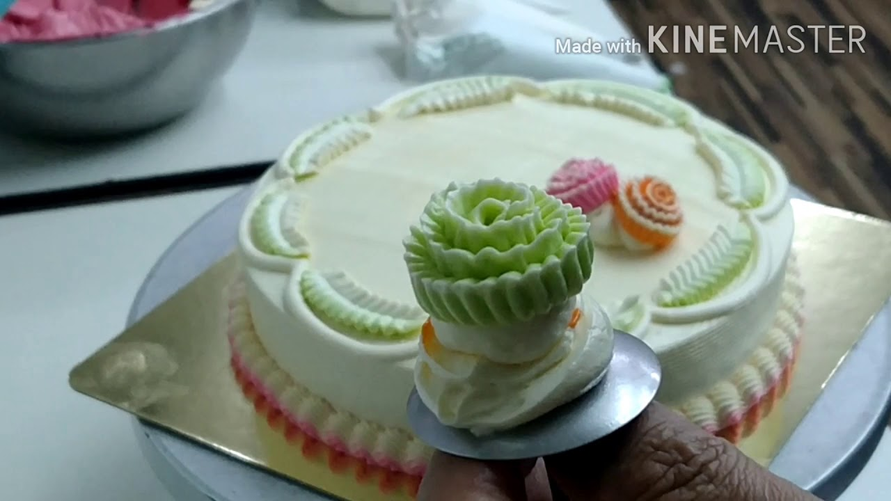 Beautiful ? of birthday ? cake ? - YouTube