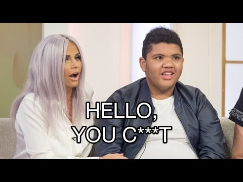 Katie Price's son Harvey Says C-Word on Loose Women Live Television to Internet Trolls, EXPLOITED?