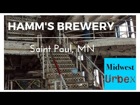Abandoned Hamm's Brewery, St. Paul, MN - Part 1: Brewhouse