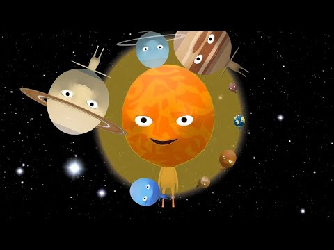 🌝-round-&-round-🌎-solar-system-|-planets-song-|-nursery-rhymes-songs-for-kids