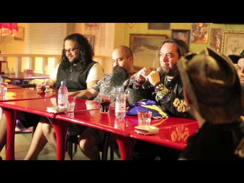 Soulfly, Max Cavalera in Almaty, Kazakhstan, Press conference 2014 May