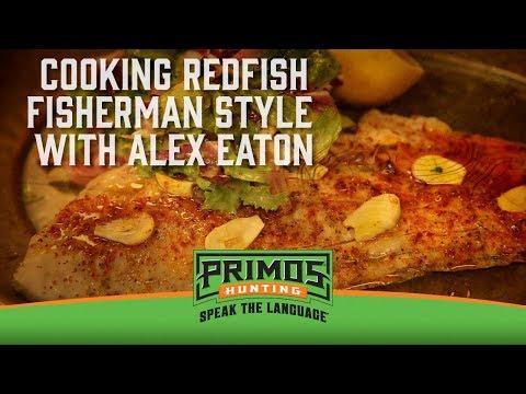 Redfish On The Half Shell Recipe