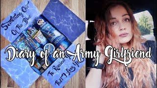 Diary of an Army Girlfriend: Something Out Of The Blue Care Package & Mini Deployment Update