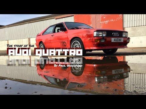 Audi Quattro Classic Car Review - Paul Woodford