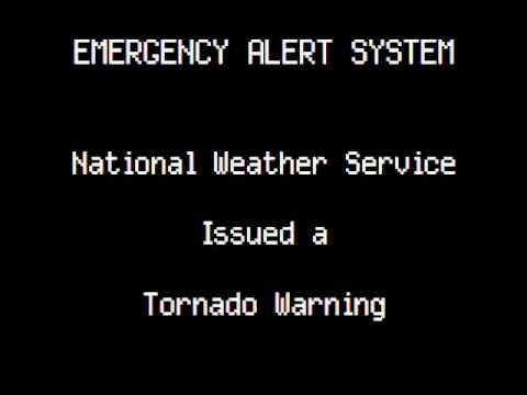 Emergency Alert System Tornado Warning Springfield Youtube