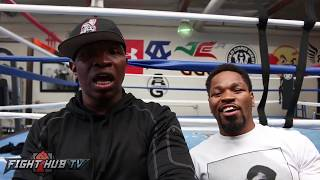 Shawn & Kenny Porter react to Mayweather vs McGregor Fighting in 8oz Gloves