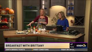 Breakfast with Brittany: Chili with a breakfast twist (part 3)