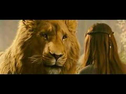 Prince Caspian Lucy Meets Aslan