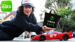 How I delivered UberEATS with a Toy Car (RC Ferrari)