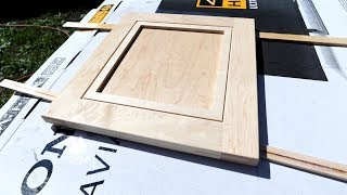 Making Cabinet Doors - Spray Finishing, Putting Them On and Fixing Problems