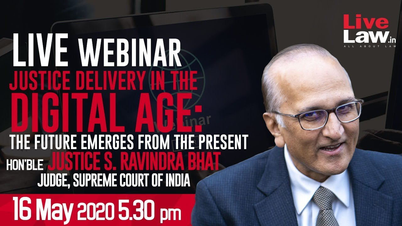 Download Justice Delivery in the Digital Age : The Future Emerges from the Present  - Justice S Ravindra Bhat