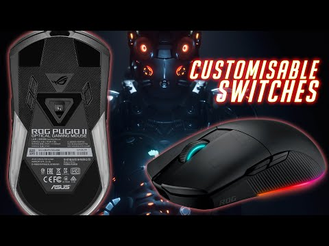 Asus ROG Pugio II Review - Customisable switches!