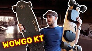 WOWGO KT ELECTRIC SKATEBOARD - FIRST IMPRESSIONS & REVIEW (UNBOXING)