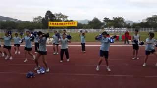 仁濟醫院靚次伯紀念中學 - 第十九屆陸運會 - 啦啦隊表演 - 仁社