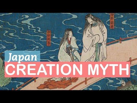 Japanese Mythology | Izanagi and Izanami and the Birth of Gods | LittleArtTalks