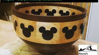 Project - Mary's Mickey Mouse Bowl