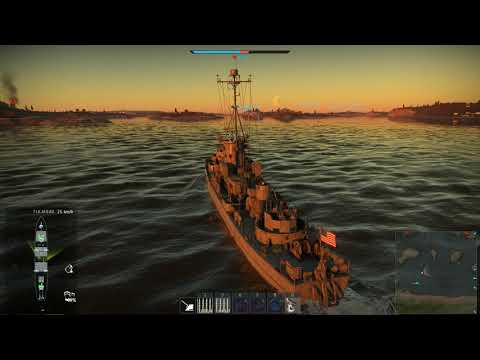 war-thunder-lcs(l)(3),-89-ft-pt-810-and-sb2c-1c-on-fuego-islands---naval-battles---american-ships