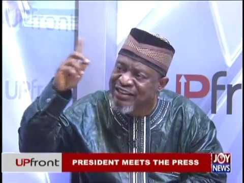 President Meets the Press – Upfront on JoyNews (20-12-18)