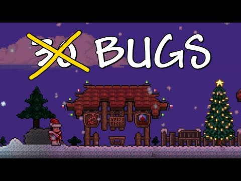 Terraria 1.3 Update - 60% OF BUGS SQUASHED! Christmas Series Idea (You Decide!!)