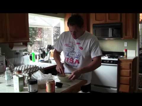 Egg White Oatmeal Pancake(1/2)